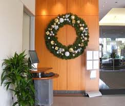 office holiday decor. seasonal holiday office decor design christmas tree service for the