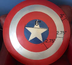 Real <b>Captain America Shield</b> | Costumes that no one will do with me ...