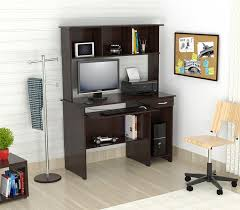 com inval cc 2501s computer workcenter with hutch espresso wengue kitchen dining