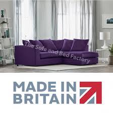 jordan small purple plush velvet