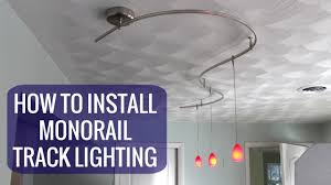 best track lighting system. The Best How To Install A Monorail Track Lighting System Pict Of Lights Trend And T