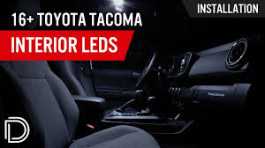 2016 Tacoma Dome Light Not Working How To Install 2016 Toyota Tacoma Interior Led Lights Diode Dynamics