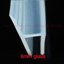 rubber seal for shower door bottom new h shape silicone rubber shower room door window glass