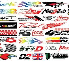 Waterproof Automobile Stickers Personalized Bike Stickers