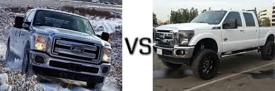 2016 Ford F-250 Vs 2012