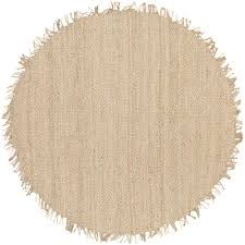 artistic weavers wisner bleach jute 8 ft x 8 ft round area rug