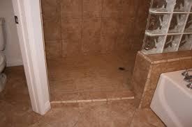 doorless shower designs for small bathrooms