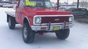 1971 Chevy Cheyenne C20 4x4 - YouTube