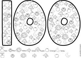 100 days of school coloring page ideas 100th day of schoolschool 100 days of school coloring page tryonshorts com on 2016 2017 academic calendar template