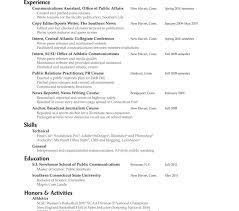 Public Relations Resume Sample Pr Resume Samples Senior Public Relations Sample Surprising 77