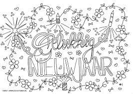 Kleurplaat Volwassen Vos Hoe Werkt Kleurplaten Nieuwjaar Zonder