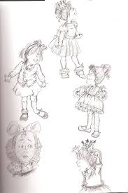 Small Picture Junie B Jones Sketch by Magical Mama on DeviantArt