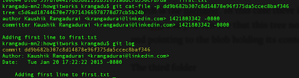 Git Internals - How Git works