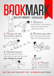 bookmark workout