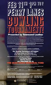 Bowling Event Flyer Bowling For Safety Townsends Community Bowling Tournament