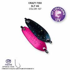Cиликоновые приманки <b>Crazy Fish</b> — купить дешево в интернет ...