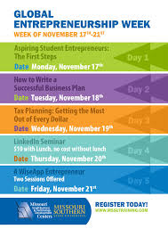Global Entrepreneurship Week Events Flyer Google Search Small
