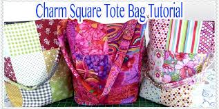 Tote Bag Tutorial: EASY Charm Square Tote Bag Tutorial - YouTube &  Adamdwight.com