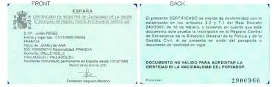 What Type Of Residencia Residence Document Should I Have The