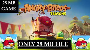 How to Download and Install ANGRY BIRDS SEASONS game for pc - YouTube