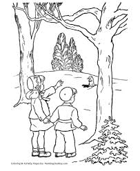 Small Picture Groundhog Day Coloring Pages Girl and Boy see a Groundhog