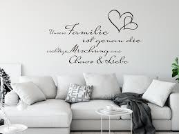 Wandtattoo Spruch Unsere Familie Ist Familie Wohnzimmer