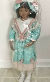 """WELDEN MUSEUM OF FINE COLLECTIBLES BLACK AA 26"""" DOLL BY KAYE BANKS 