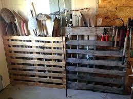 garden shed organization shed storage organization ideas great idea to organize garden tools in garage using an old pallet outdoor storage shed organization