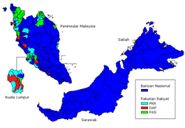 2008 Malaysian General Election Wikipedia