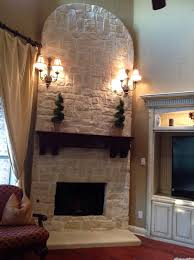 stone fireplace with flat screen flat screen over fireplace