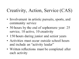 overview of the ib program and honor code extended essay  6 creativity