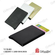 Gold Card Office Rfid Card Holder