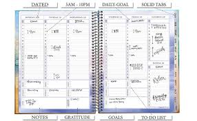 Monthly Weekly Daily Planner Planner 2019 8 5 X 11 With Stickers Tools4wisdom