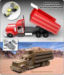watch build a famous kenworth t600 dump truck wood toy