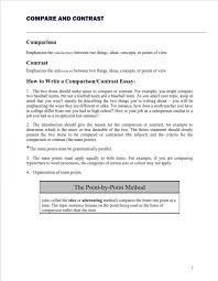 Essay Of Comparison And Contrast Examples Compare And Contrast Essay Writing A Complete Guide