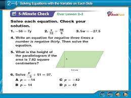 1 over lesson 2 3