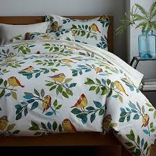 36 best Bird Duvet Cover images on Pinterest   Your favorite, Anna ... & The Birds Eye View Flannel Sheets & Bedding Set features colorful,  hand-drawn birds perched on leafy branches. Adamdwight.com