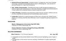 Effective Resume Format - Resume Examples