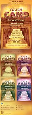 youth camp flyer template by godserv graphicriver youth camp flyer template church flyers