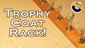 Yellow Coat Rack Trophy Coat Rack YouTube 81