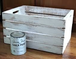 decoupage napkins upcycled wooden crate diy makeover girlinthegarage net