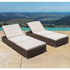 reclining chaise lounge. Brayden Studio Trombley Outdoor Wicker Reclining Chaise Lounge With Cushion \u0026 Reviews | Wayfair