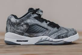 all star shoes for girls 2017. 2016 girls air jordan 5 low gs \u201call-star\u201d cool grey/wolf grey-white-black all star shoes for 2017