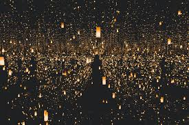 lighted lantern lot a million lanterns