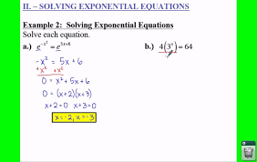 pre calculus 3 4 solving logarithmic and exponential equations lessons tes teach