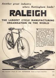 raleigh advert from 1940
