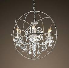 decoration fresh restoration hardware orb chandelier you need to know knock off
