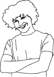 Small Picture High School Musical Characters Chad Danforth Coloring Pages