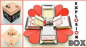 How To Macke How To Make Exploding Memory Box Diy Surprise Gift For