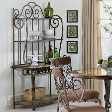 Standard Furniture Bombay Ornate Baker s Rack Great American